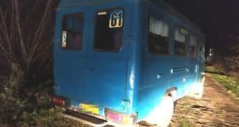 В Ровно подросток в третий раз украл маршрутку