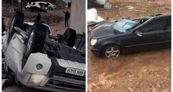 Автівки зім'яло, як бляшанки: моторошний торнадо охопив Кіпр – фото, відео