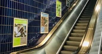В метро Мюнхена появились плакаты о Голодоморе: фото