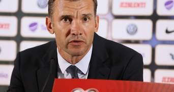 Шевченко відмовився коментувати рішення УЄФА присудити поразку Україні