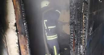 В Дрогобыче случился страшный пожар в сауне: фото пожарища