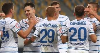 """""""Динамо"""" впевнено перемогло """"Ворсклу"""" і закріпилося на першому місці: відео"""