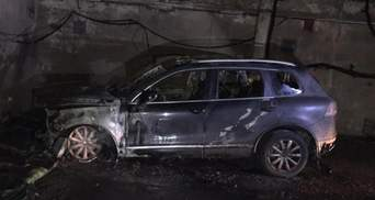 В Одесі згорів автомобіль журналіста: поліція підозрює підпал – відео