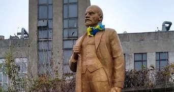 У Києві підприємець незаконно встановив пам'ятник Леніна: хотів трохи заробити