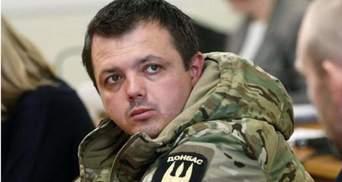 Суд не вернул Семенченко звание офицера