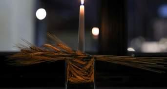 Почтение памяти жертв Голодомора: в окне президента Польши зажгли свечу
