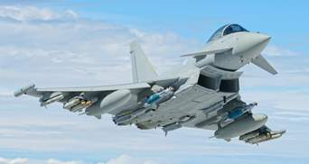 Британские истребители перехватили военные самолеты России у Шотландии