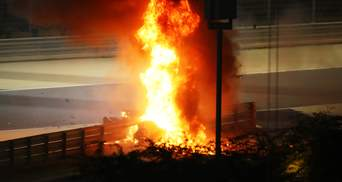 Гонщик Формули-1 потрапив у моторошну аварію: болід спалахнув за секунду і розірвався на частини