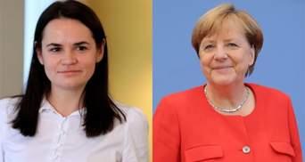 Меркель запитала, чи розумію українську мову, – Тихановська