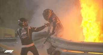 Представлена 3D-реконструкция аварии Грожана в Формуле-1: что спасло гонщика
