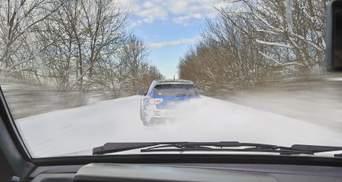 В Украину пришла настоящая зима: как вести себя на дорогах
