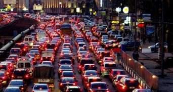 Пробки в Киеве 2 декабря