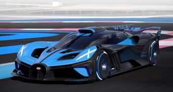 Bugatti презентувала трековий суперкар Bolide: надпотужні можливості новинки