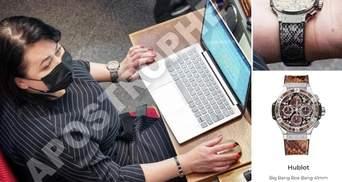 """Годинник за 27 тисяч доларів: """"слуга"""" Криворучкіна засвітила у Раді елітний аксесуар – фото"""