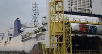 В порту Черноморска нашли тело водителя-иностранца