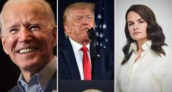 Байден, Трамп і Тихановська: у Bloomberg назвали найвидатніших людей 2020 року