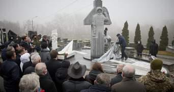 В Киеве открыли памятник космонавту Каденюку: фото