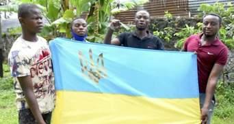 """""""Слава Вооруженным силам Украины"""": Африканцы из Конго поздравили украинских военных – видео"""