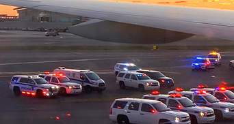 Из-за угрозы взрыва: в США эвакуировали пассажиров самолета Москва – Нью-Йорк