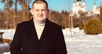 Представник омбудсмена Лисянський побився з охоронцем ресторану, його відсторонили: відео