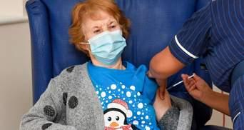 Первый человек получил вакцину от коронавируса: кто эта счастливица