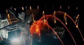 В Киеве показали, каким будет обновленный фонтан возле памятника основателям столицы – видео