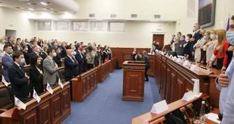 В Київраді сформували депутатські фракції: список