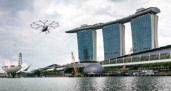 Volocopter продает билеты на первые туристические рейсы в Сингапуре: когда запустят аэротакси