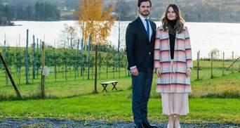 Принц Швеції Карл Філіп і принцеса Софія оголосили, що очікують на третю дитину