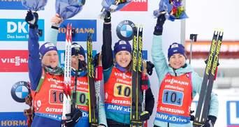 Стало відомо, хто представить Україну в жіночій естафеті на Кубку світу в Хохфільцені