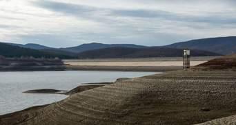 В оккупированной Ялте планируют выкачивать воду из озера для поставки в город