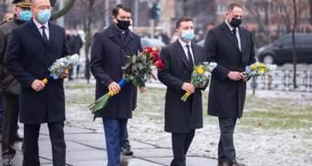 Зеленский почтил память участников ликвидации катастрофы на ЧАЭС