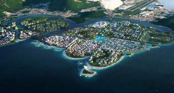 У Малайзії побудують плавуче місто-архіпелаг: вражаючі фото інноваційного проєкту