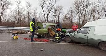 Жахлива ДТП у Краматорську: постраждали 6 осіб, з них 3 дітей – фото