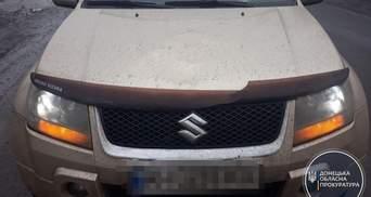 На Донбасі водій кросовера вбив хлопчика, що переходив дорогу: фото