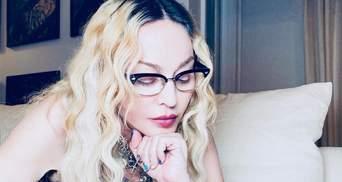 62-летняя Мадонна очаровала видео, где делает с детьми игрушки для елки