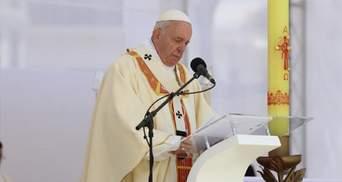 Коронавірус зробить Різдво більш справжнім, – Папа Римський