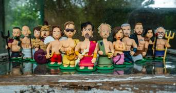 Андрухович – Зевс, а Жадан – Аполлон: українських письменників перетворили на ляльок – милі фото