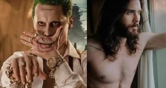 Джаред Лето: що означають татуювання на тілі фронтмена гурту Thirty Seconds to Mars