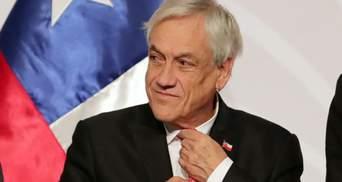 За порушення маскового режиму президент Чилі сплатить 3,5 тисячі доларів штрафу
