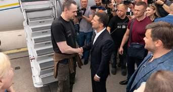 """Сенцов назвав своє звільнення """"подарунком Путіна Зеленському"""""""