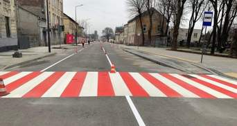 У Львові відкрили для проїзду частину відремонтованої вулиці Богдана Хмельницького