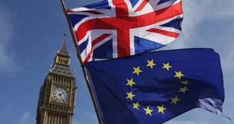 Британія остаточно відмовилась від переговорів з ЄС на тлі Brexit: заява