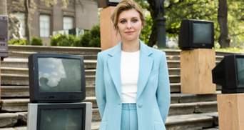 Перша леді — це голос, який почують: Зеленська поділилась першими здобутками за рік роботи