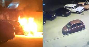 Підпал автомобілів Лероса та Богдана: у справах досі триває слідство