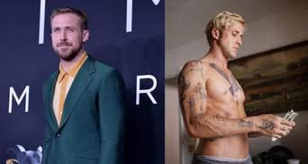 """Раян Гослінг: що означають татуювання на тілі зірки """"Ла-Ла Ленду"""""""