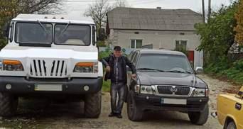 В Тернополе мужчина собственноручно сконструировал украинский внедорожник: фото