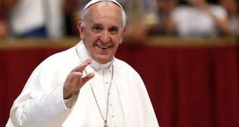Папа Римський під час різдвяного послання згадав про Україну