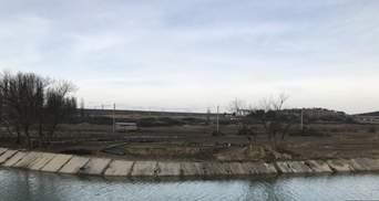 Река превратилась в ручей: российские военные прекратили перекачку воды в Симферополь