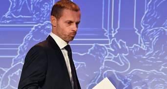 УЕФА обвинило президента Реала в желании создать Суперлигу
